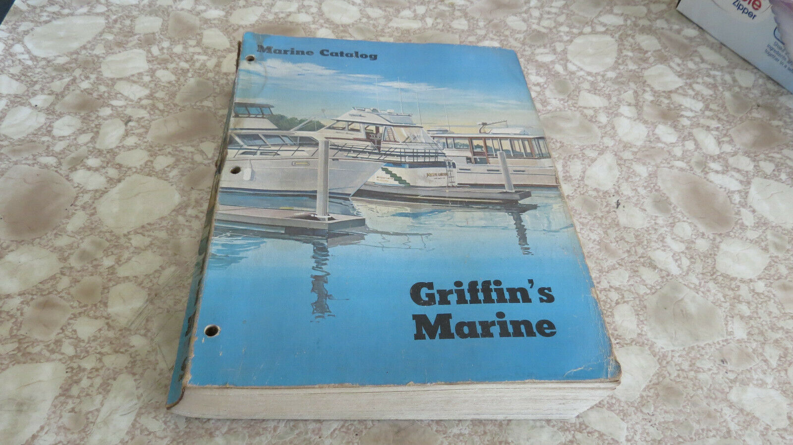 Vintage Griffins MArine Parts and Accessories Catalog Book #2480 Used