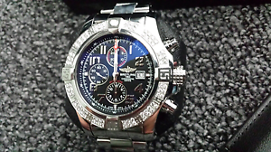 BREITLING SUPER AVENGER  II DIAMONDS Wollongong Wollongong Area Preview