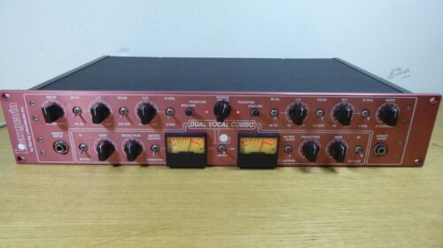 Manley Langevin Dual Vocal Combo Channel Strip Preamp EQ Compressor Limiter Look