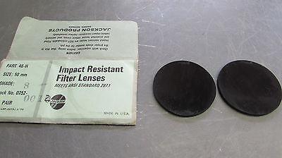 Jackson Impact Resistant Filter Lenses Part 46-h Shade 8