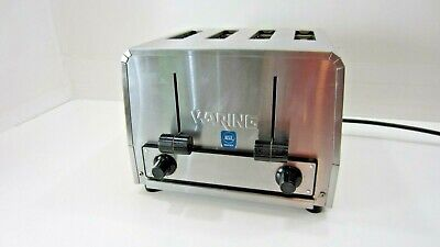 Waring Commercial Restaurant 4 Slice Heavy-duty Toaster Wct800