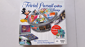 RRP$79.99 Trivial Pursuit Disney DVD Edition Board Game Mickey Upper Coomera Gold Coast North Preview