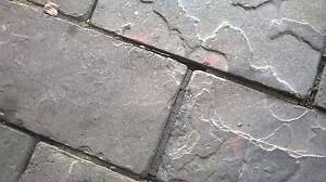 Pavers concrete slate style approx 50 SQM Trott Park Marion Area Preview