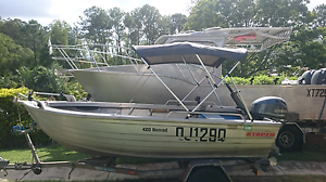 4.2  tinny with 4 stroke yamaha Nambour Maroochydore Area Preview