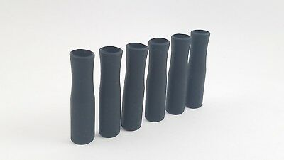 Silicone Straw Tips Covers Fit for 8 mm straws in compostable bag Silicone Tip Covers