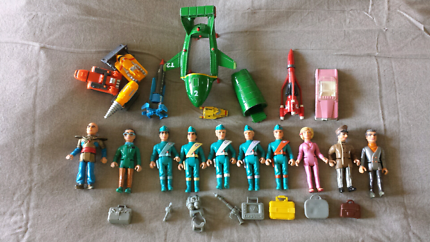 Thunderbirds Set Collection