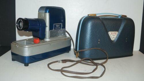 Vintage 1950s TDC Vivid Show Pak 300 Slide Projector Model 123 - NICE & WORKS