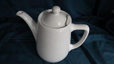 SUISSE Langenthal Kaffeekanne - Teekanne - mit Deckel in weiss  # 16