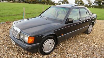 1989 Mercedes-Benz 190 190E 2.6 4 DOOR AUTO SALOON Petrol Automatic