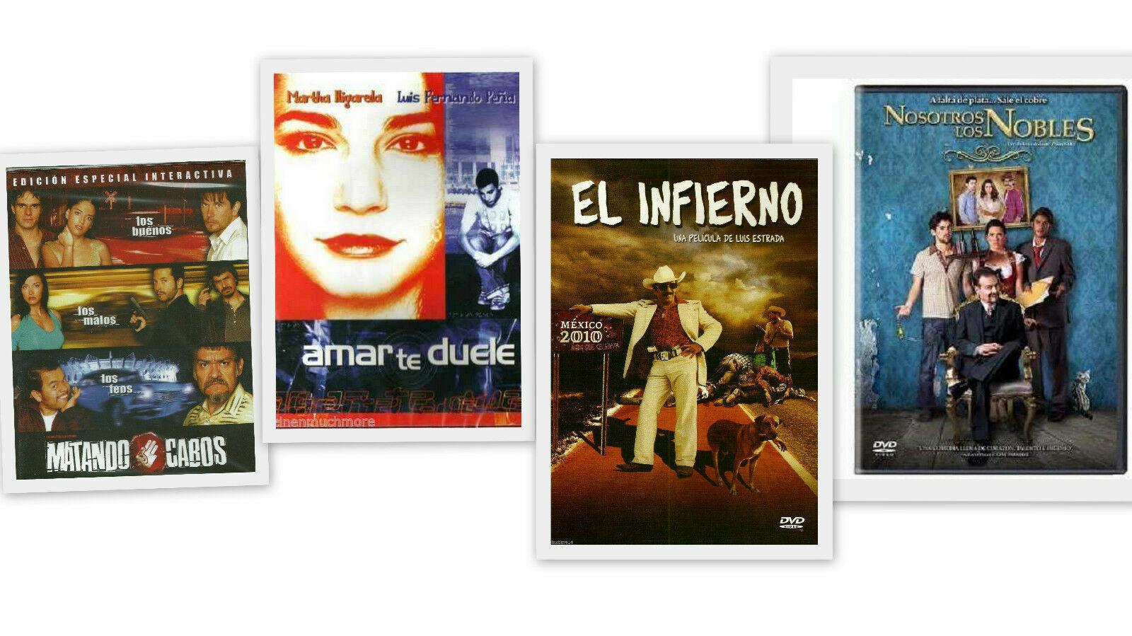 Amar Te Duele Full Movie el infierno region 4 movie - dvd, 2010