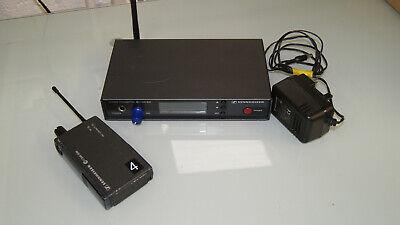 Sennheiser Ew300 Iem G1 In Ear Monitoring Transmitter Receiver Set 22k