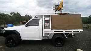 nissan patrol gu coil cab ute  with canopy Warnervale Wyong Area Preview