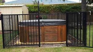 PORTABLE 2-3 PERSON SIGNATURE SPA with fence Kingsley Joondalup Area Preview