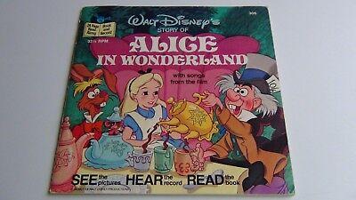 Walt Disney 's Alice in Wonderland with Songs: See, Hear, Read & Record 1979
