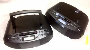 Sony CD/Tape Player/Recorder CFDS70BLK