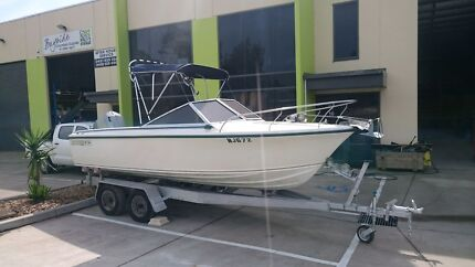 BOAT, FISHING, MUSTANG 1800 RUNABOUT, 135HP Dromana Mornington Peninsula Preview