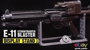 Stormtrooper E-11 Blaster holder stand Star Wars E11 Blastech