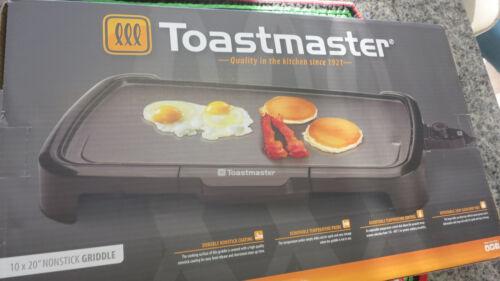 Toastmaster Countertop Griddle Black TM-201GR
