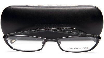NEW Jones NEW YORK J431 MATTE BLACK EYEGLASSES GLASSES FRAME 52-17-135 B25mm