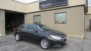 2014 Chevrolet Malibu 1LT Back-up Camera, Power Sunroof, Blue...