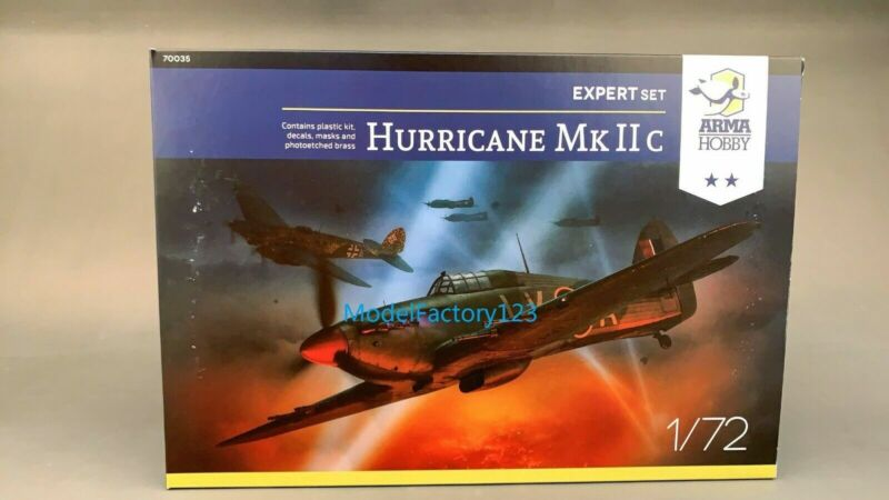 Arma Hobby 70035 1/72 Hurricane Mk IIc expert set model kit