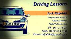 Driving Lessons - Jack Ridjalski Keysborough Greater Dandenong Preview