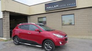 2014 Hyundai Tucson GLS Power Sunroof, Heated Seats, Bluetooth