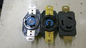 L6-30R 30 Amp 250 Volt 3 Wire Twistlock Receptacle