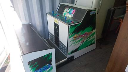 Arcade Cabinet Sega Virtua Striker 1995 No Screen As Is