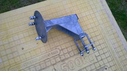 New Galvanised Spare Wheel Holder For Trailer Moonee Ponds Moonee Valley Preview