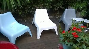 DESIGNER GARDEN LOUNGING CHAIRS St Kilda Port Phillip Preview