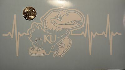 Ku Jayhawks Life Decal