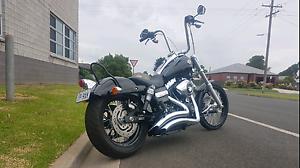 Harley davidson wide clide custom 2000km Terang Corangamite Area Preview