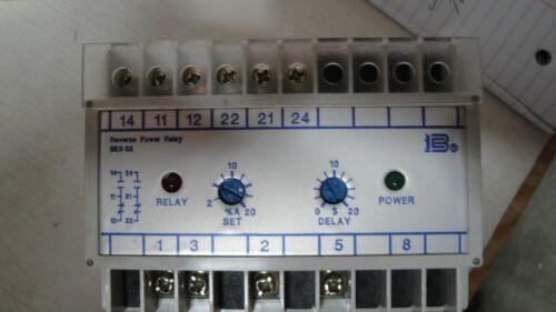 Basler BE3-3-32 Din Rail Mounted Reverse Power Relay, Free Shipping !