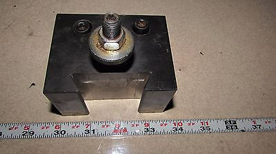 250-304 Phase Ii 2  Quick Change Tool Block 1 Bore