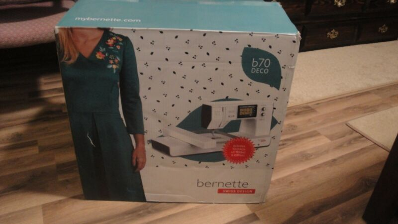 Bernette b70 DECO Embroidery Machine only.