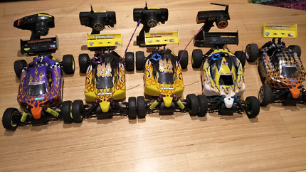 HSP Nitro 1/10 Buggies x 4