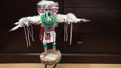 """Kachina Doll """"EAGLE DANCER"""" Hopi Tribe signed by Artist Benjamin L."""