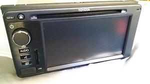 Toyota Stereo Head Unit Touch screen. PZQ60-00525 North Perth Vincent Area Preview