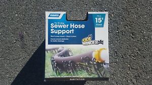 Camco Sidewinder sewer hose support , 15 ft