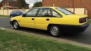 Holden VP BT1 V8 factory yellow interceptor Mill Park Whittlesea Area Preview