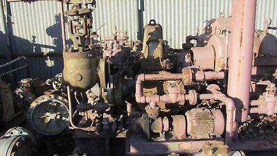 Worthington Steam Turbine 710bhp Stage 1 Curtis Rating 710hp 870rpm 830psig