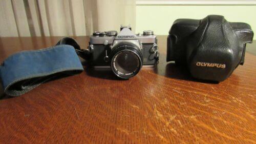 Olympus OM-1 35mm SLR Film Camera with 50 mm lens