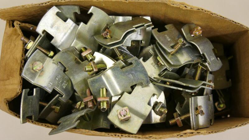 """83 PCS SUPER STRUT 3/4"""" #703 EMT IMC RIGID CHANNEL PIPE CLAMP"""
