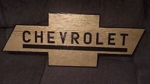 CHEVROLET SIGN