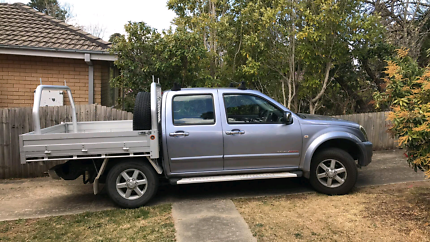 2005 Holden Rodeo Ute Dual Fuel Tray Back