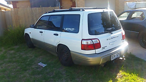 00 forester and ef manual Davoren Park Playford Area Preview