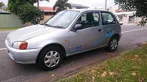 Toyota Starlet, 1999. $1000 neg Mermaid Beach Gold Coast City Preview