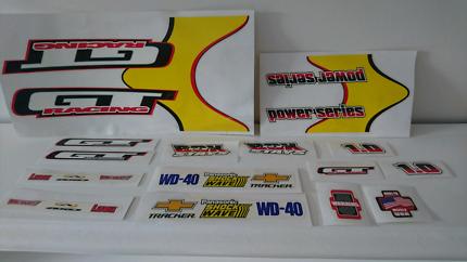 2001 Gt power series sticker kit genuine Gt package