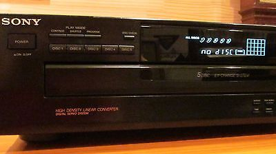SONY   5 CD PLAYER / MULTI COMPACT DISC CHANGER     CDP-C265